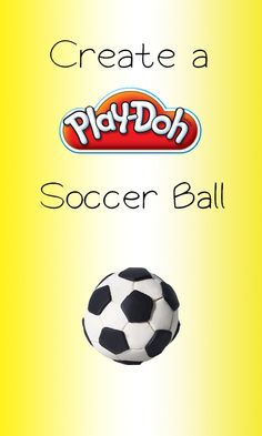 Create a fun Play-Doh Soccer Ball. A great way to learn and get creative!