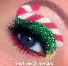 Christmas makeup. Youtube channel: full.sc/SK3bIA