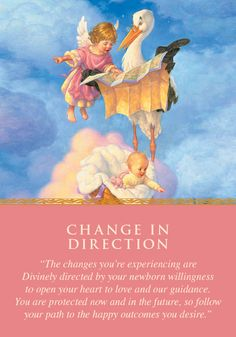 Oracle Card Change in Direction | Doreen Virtue - Official Angel Therapy Website