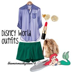 """Disney World outfits"" by themermaidqueen18, aka Lauren Brittany on Polyvore"