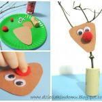 Paj�czyna - pomys�y na prac� plastyczn� dla dzieci
