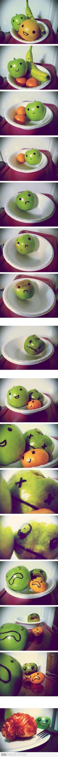 Frutta zombi.
