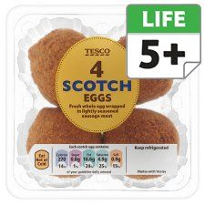 Scotch Eggs....yummy....Whole eggs covered in sausage meat #Britishfood
