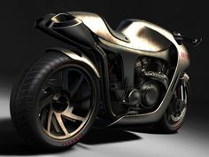 """""""The concept - """"Metalback"""" is powered by a v4 engine running on bio diesel."""