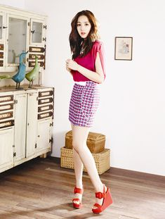 More Of Park Min Young For COMPAGNA's Summer 2013 Campaign : Couch Kimchi