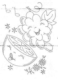 uva y naranja