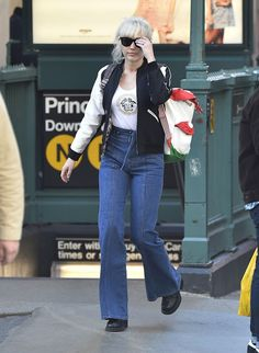 celebstills: Miley Cyrus Street Style – Out in SoHo, New York City March-2016