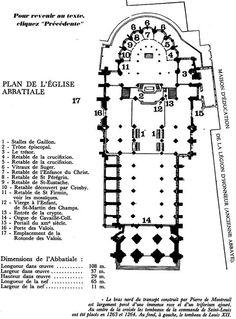 Plan of St. Denis