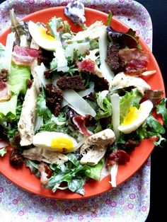 Utiliser ses livres 39-40/136: Salade Cesar à la scandinave et trifle Tilslorte Bondepiker - Food and Fashion