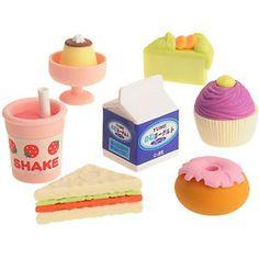Food & Drink Erasers