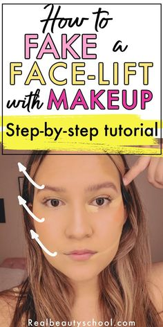 Facelift Without Surgery, Facelift Before And After, Makeup Tips, Makeup Hacks, Beauty Makeup, Eye Makeup, Beauty Tips For Over 50, Blush Tutorial, How To Use Makeup