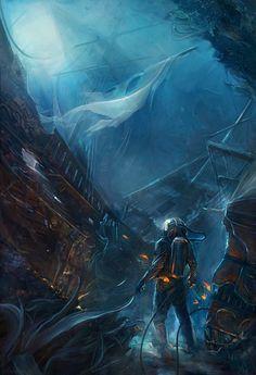 Lauren Saint-Onge, Jules Verne's 20,000 Leagues Under the Sea