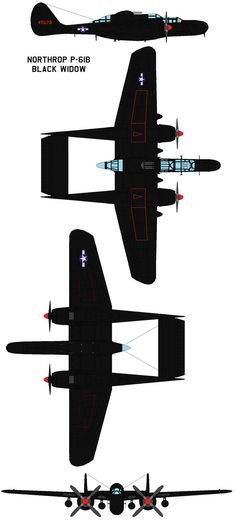 The Northrop P-61 Black Widow became the United States' first aircraft specifically designed from the outset as a platform dedicated to the fine art of night-fighting. Enabled by its complex t...