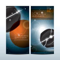 Planet Earth Background Banner vector Illustrator
