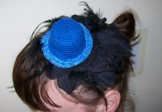 Crochet Hat Hair Accessory