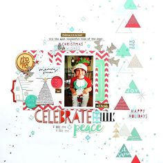 I had a bit of free time today with no scrapbooking Design Team commitments so I created a for the December Mood Board challenge over at Jot Magazine. The mood board was designed by for I used the gorgeous collection! Scrapbook Designs, Scrapbooking Layouts, Christmas Wishes, Xmas, Christmas Scrapbook, Loom Knitting, Mini Books, Wonderful Time, December