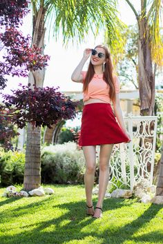 2015-07-10-Fashion-Blogger-Outfit-Retro-Self-Made-60s-Skirt-Curtain-Italy-Vacation-Summer-2