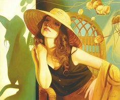 Artist Svetlana Valueva