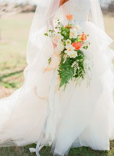 View entire slideshow: Wildflower Bouquets on http://www.stylemepretty.com/collection/1675/