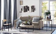 I love the west elm Airy Modern Living Room on westelm.com/