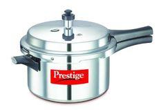 Prestige Popular Aluminium Pressure Cooker, 4 Liters for $33.16