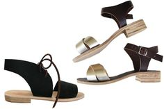 13 Bay Area Accessory Designers You Must Know Now  #refinery29  http://www.refinery29.com/san-francisco-designers#slide-2  Name: Rachel Sees Snail Shoes Established: 2011 Signature Style: Colorful, handmade sandals. Perfect For: California girls. Price Range: $120 to $200 From left: Rachel Sees Snail Shoes Black Tie Sandal; Rachel Sees Snail Shoes Jemma Buckle Sandal.