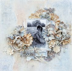 "Tina Marie - Forever and Always: ""Sun Kissed"" Maja Design / Dusty Attic / 49andMark..."