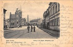 Königsberg, Kaliningrad, Hohe Brücke