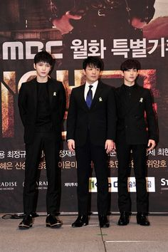 "140430🦋JaeJoong재중AU ""Triangle"" PRESS Conference~ JaeJoong, Lee Bum Soo and Im Siwan"