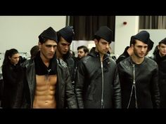Emporio Armani - 2015 Fall Winter - Men's Fashion Show Backstage