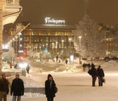 Winter in Finlayson, Tampere