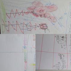 Max, 1e klas. cijfers schrijven en bijbehorende tekeningen (#2)