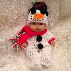 Clothes For 10 and 8 Inch Berenguer/Reborn by LoveWhatIDoCrochet4U