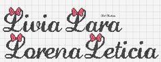 Cross Stitch, Google, Crochet Slippers, Cross Stitch Letters, Cross Stitch Alphabet, Letter L, Crossstitch, Patterns, Names