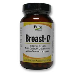 0a0c6cca97c Buy Pure Essence Labs Breast-D - 30 Caps at the lowest price from eVitamins.  Find Breast-D reviews, side effects, coupons and more from eVitamins.