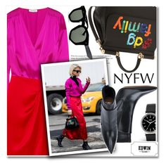 """""""Best NYFW Street Style Trend"""" by paculi ❤ liked on Polyvore featuring Attico, Dolce&Gabbana, Givenchy, Grey Ant, StreetStyle and NYFW"""