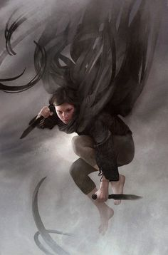 "we-are-rogue: "" Mistborn cover by Sam Weber """