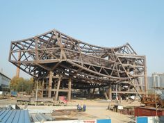 In Progress - Zhang ZhiDong and Modern Industrial Museum by Studio Daniel Libeskind via Archdaily