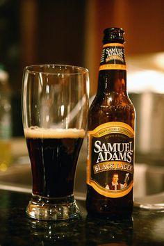 Sam Adams Black lager   la black lager