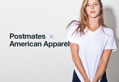 American Apparel offering on-demand delivery via Postmates partnership #Startups #Tech