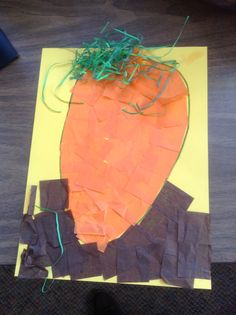 The carrot seed! May Themes, Carrot Seeds, Carrots, Kindergarten, Crafts For Kids, Classroom, Craft Ideas, Teaching, Plants