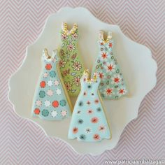 Fashion cookies by Patricia Arribálzaga