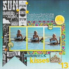 Summer Kisses - Scrapbook.com
