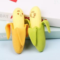 Banana Fruit Pencil Eraser Rubber Novelty for Children Student Learning Stationery - Gorden Web Stores Banana Fruit, Pencil Eraser, School Stationery, Pencil Writing, Office And School Supplies, Student Learning, Pens, Gifts, Action Toys