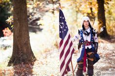 Assassin's Creed cosplay Connor