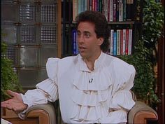 1990: Seinfeld hits televisions everywhere, making us all aware of the dangers of the puffy shirt.