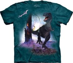 The Rex Kids T-Shirt from THE MOUNTAIN is one of the coolest dino tees you'll ever find! For a look that will never go extinct, shop our huge collection of DINOSAUR T-SHIRTS. Dinosaur Toys For Kids, Dinosaur Gifts, Dinosaur Shirt, Dinosaurs, Dinosaur Age, T Rex, Onesies, Halloween Costumes, Little Girl Fashion