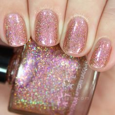 Femme Fatale Cosmetics The Secret Coinage | The Dunes Collection | Peachy Polish