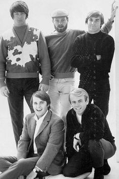 The Beach Boys' Pet Sounds came out 50 years ago. Carl Wilson, Dennis Wilson, America Band, Mike Love, 3 Brothers, 60s Music, The Beach Boys, Rock Legends, Hip Hop Fashion