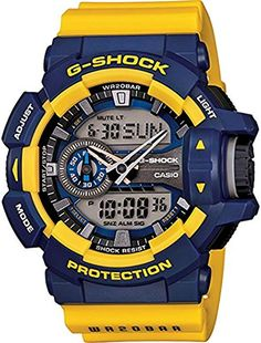 d771ca9f29aa online shopping for Casio G-Shock Rotary Switch Mission Stylish Watch -  Blue Yellow   One Size from top store. See new offer for Casio G-Shock  Rotary Switch ...